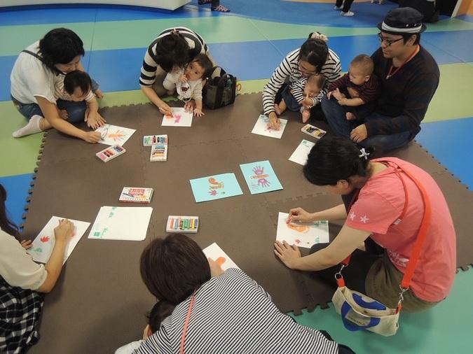 【火・木よう開催!赤ちゃんの日イベント】12/5(火)手形あそび