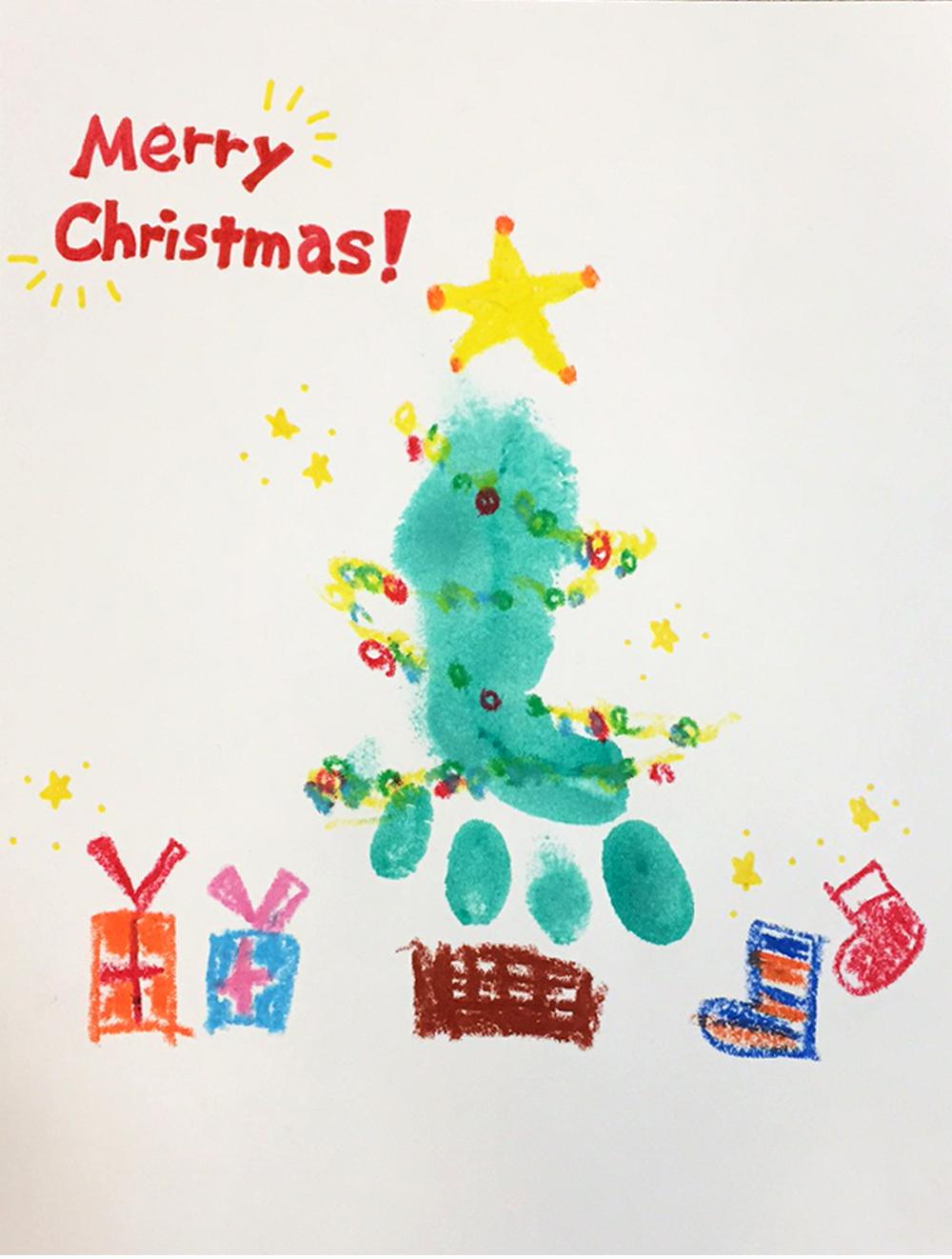 【クリスマス特別イベント】12/17(土)手形あそび