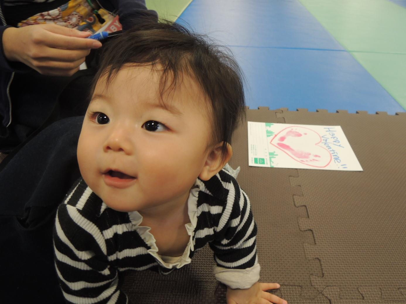 2/13 赤ちゃんの日イベント報告「手形」
