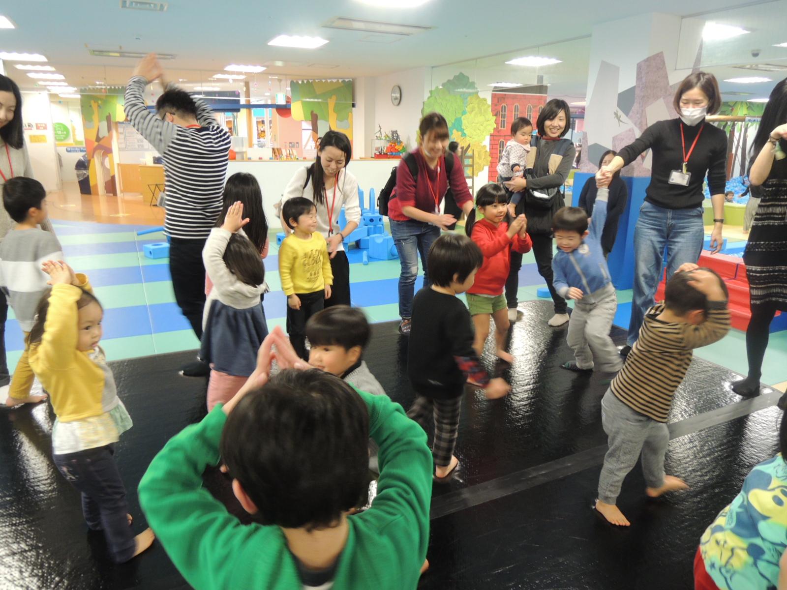 「選手になりきって遊ぼう!キドキドで楽しむ冬のスポーツイベント」のご報告(2/14~24)