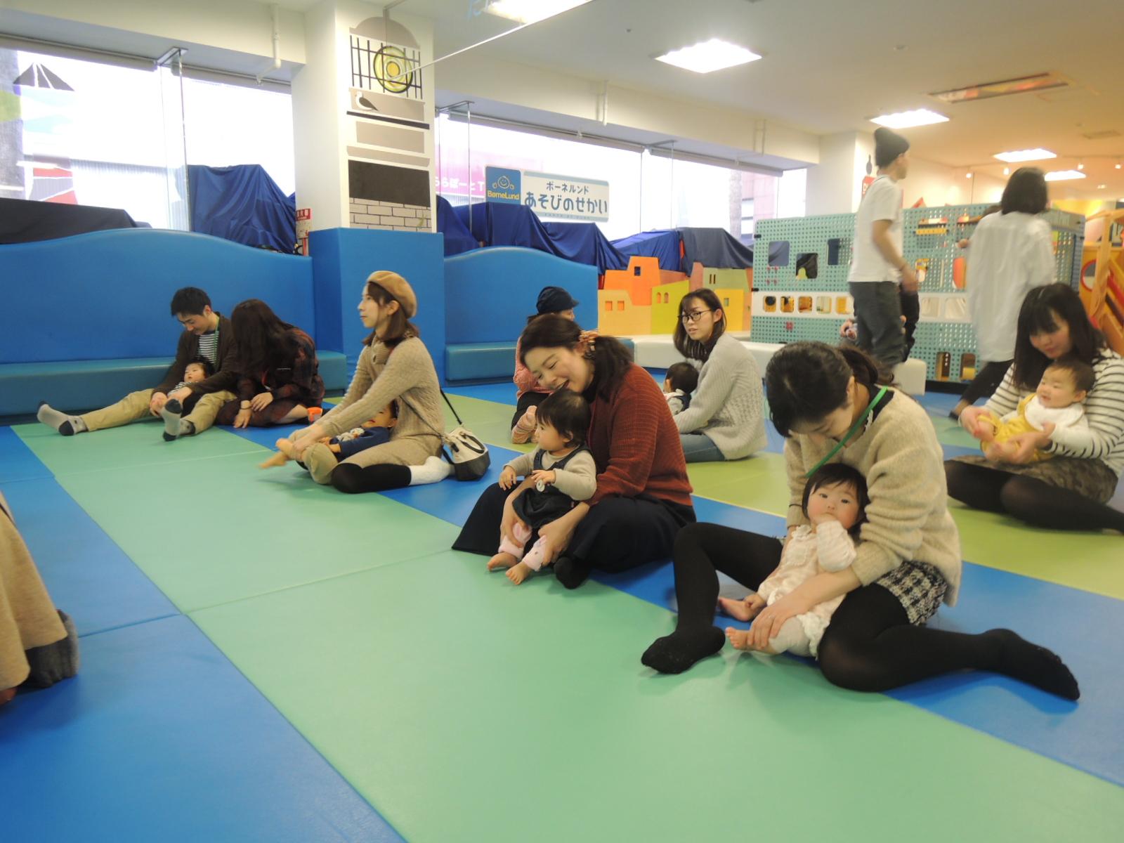 2/15赤ちゃんの日イベント報告 ハイハイレース