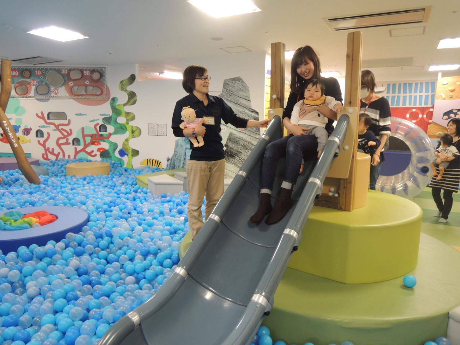 2/20 赤ちゃんの日イベント報告「布あそび」