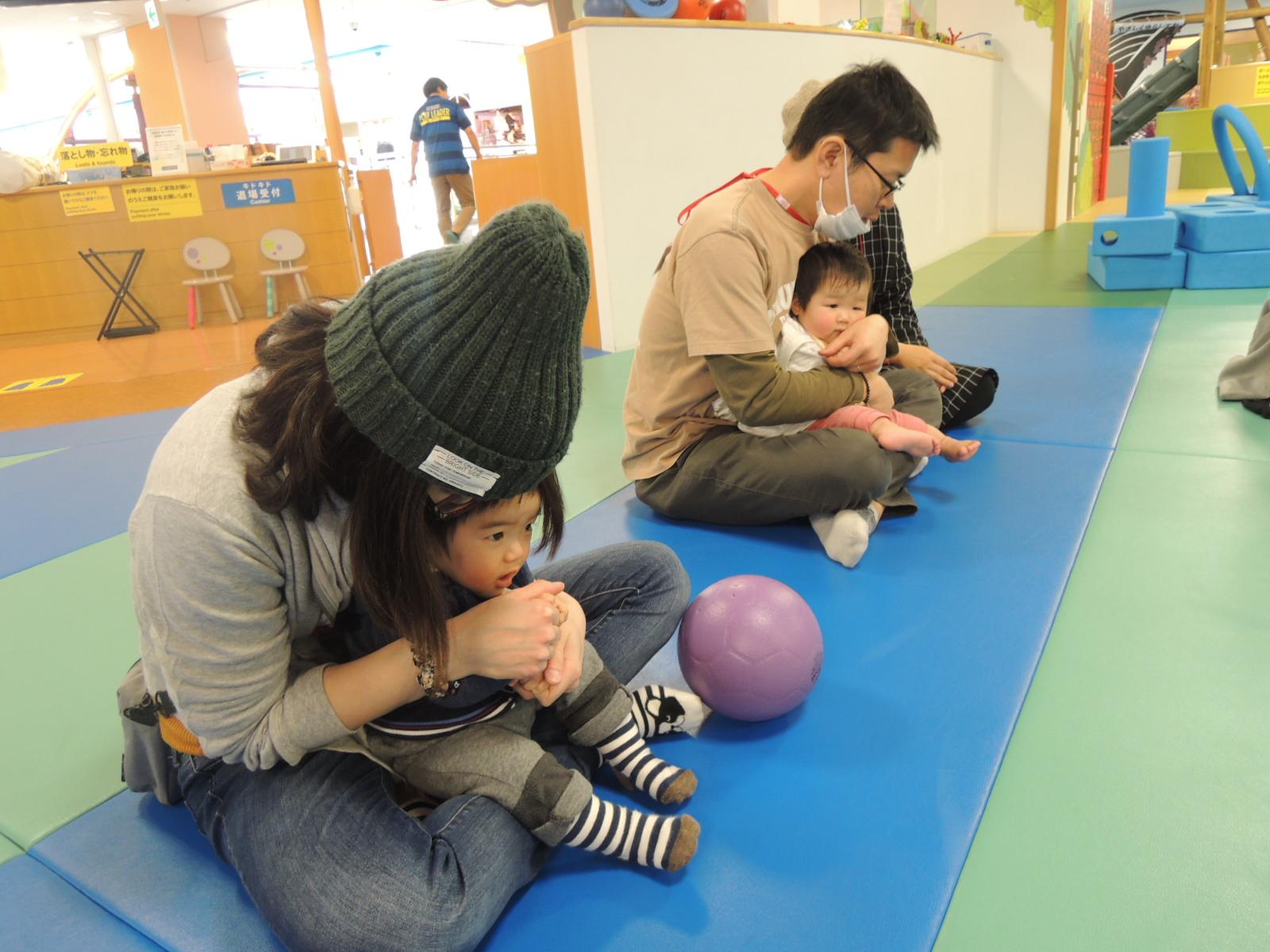 2/27あかちゃんの日イベント報告 ハイハイレース