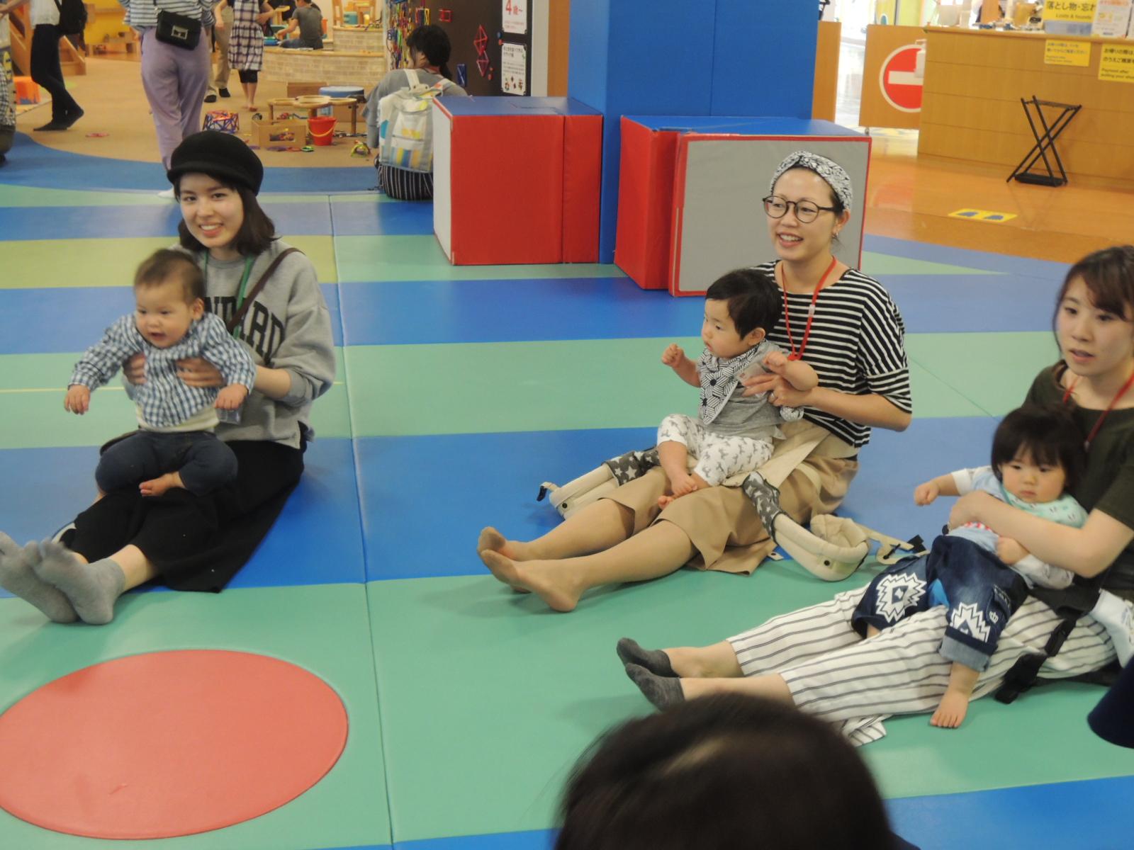 3月29日赤ちゃんの日イベント「ハイハイレース」のご報告