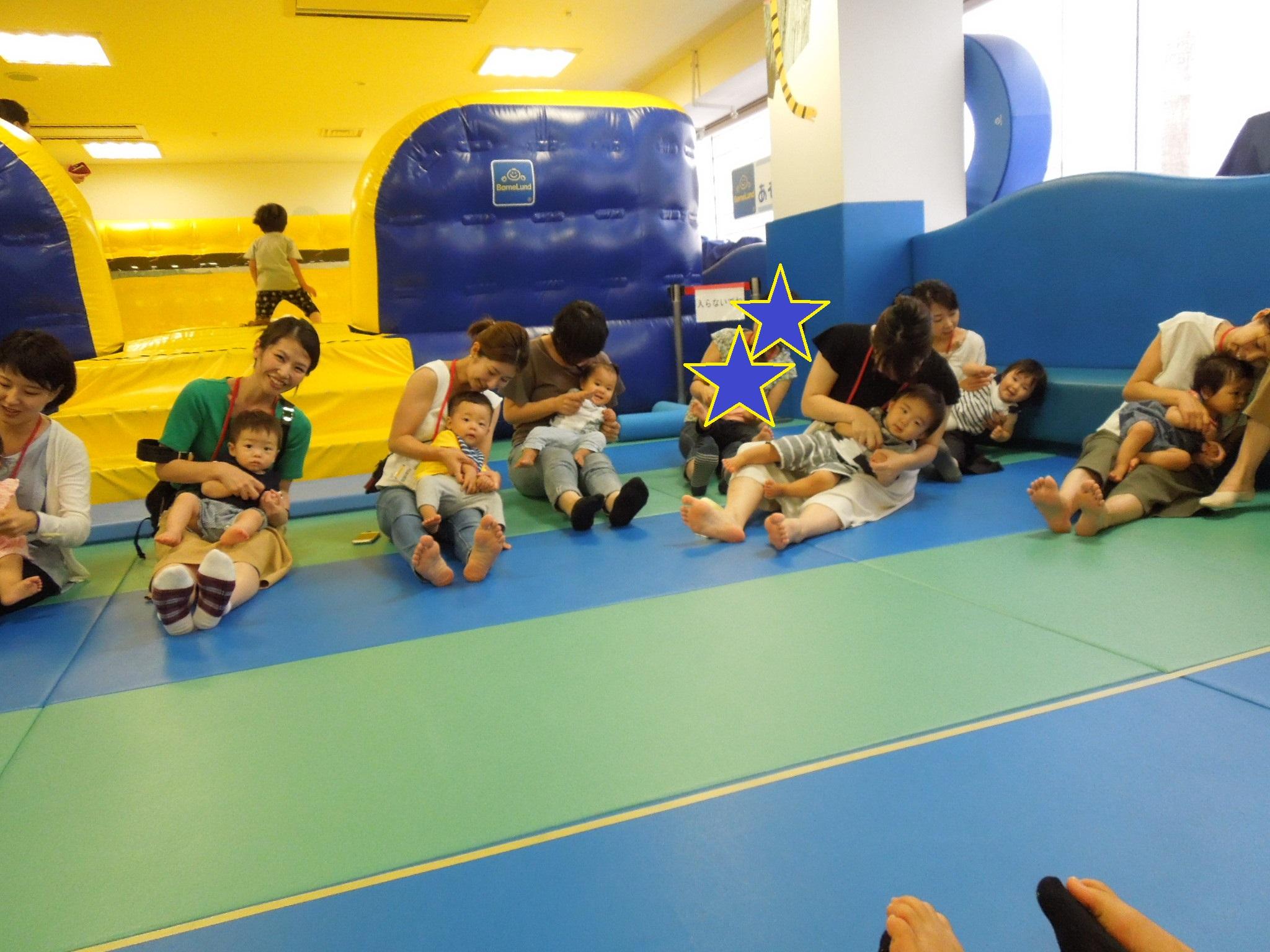 7月24日(火)赤ちゃんの日「ハイハイレース」のご報告