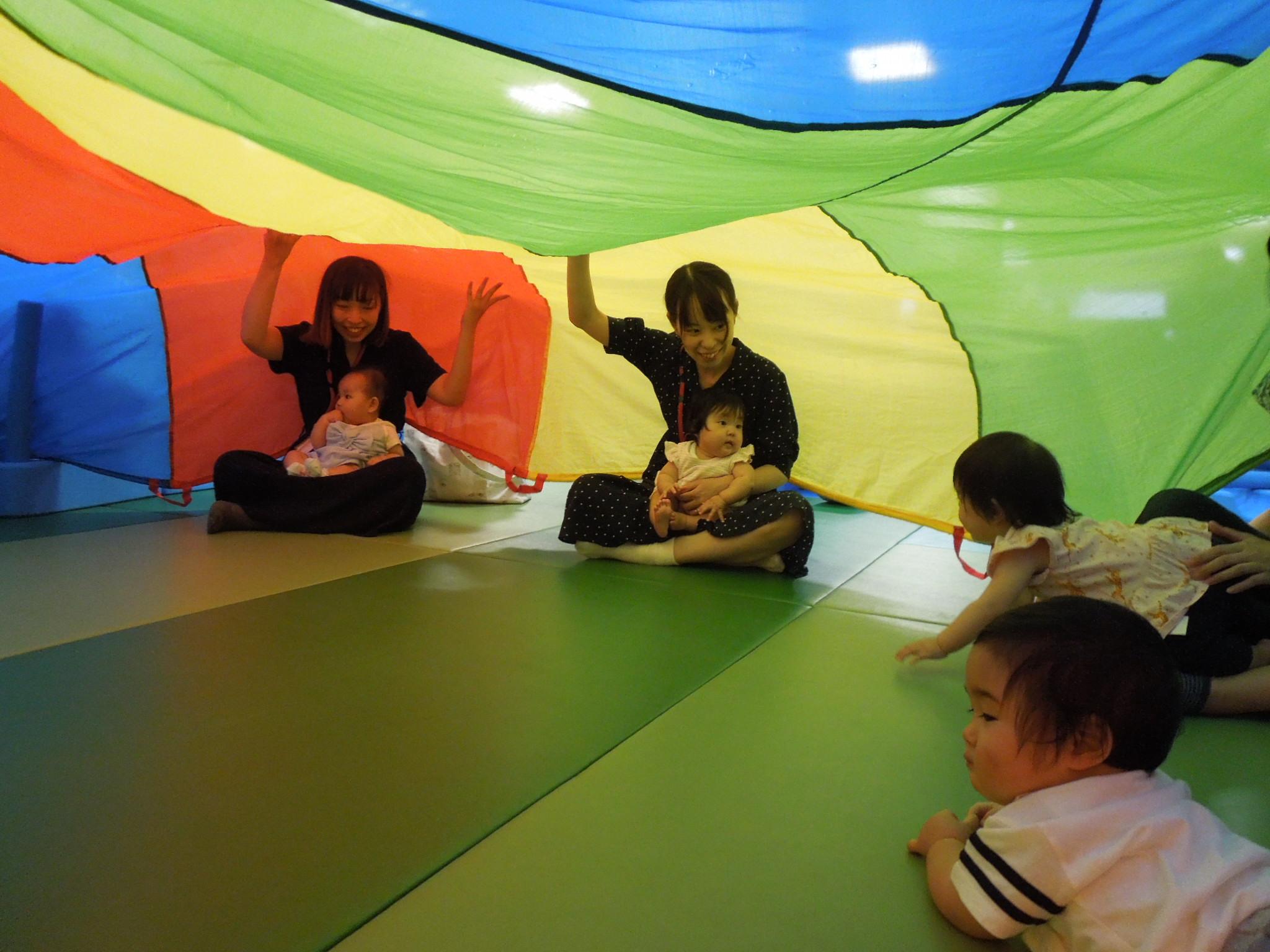 【火・木よう開催!赤ちゃんの日イベント】8/23(木)布あそび
