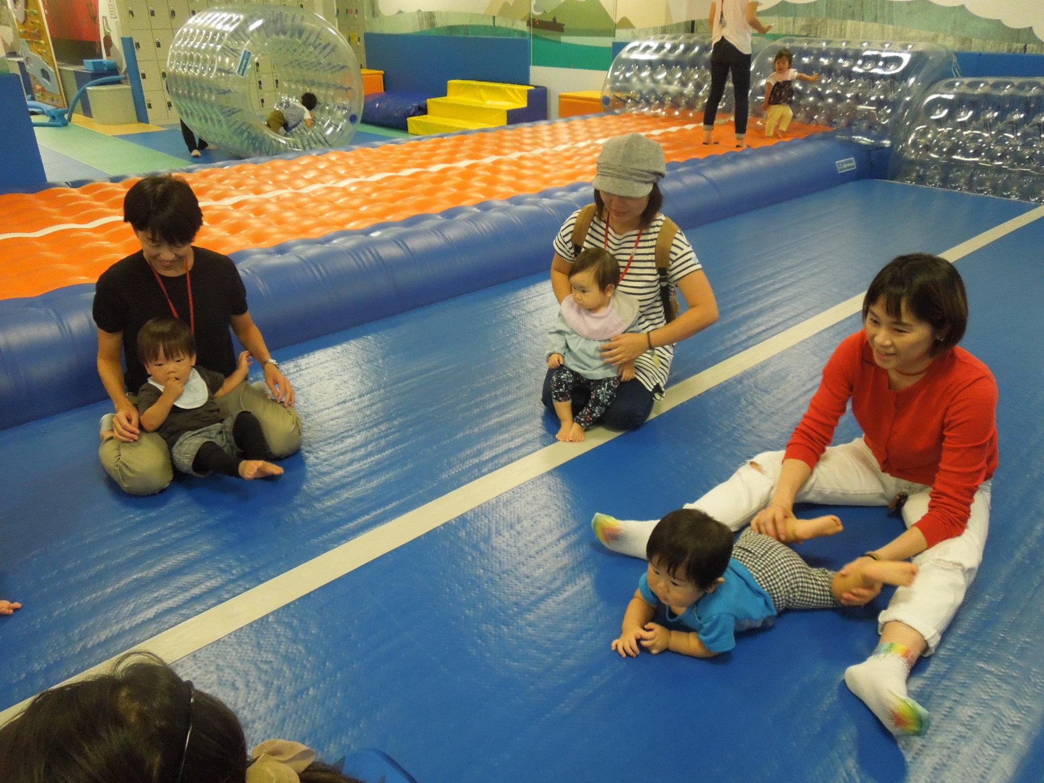 9月20日赤ちゃんイベントのご報告(ハイハイレース)