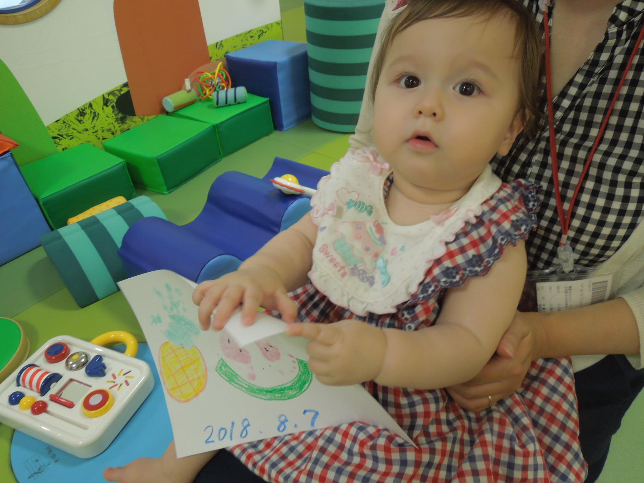 【火・木よう開催!赤ちゃんの日イベント】11/15(木)手形あそび
