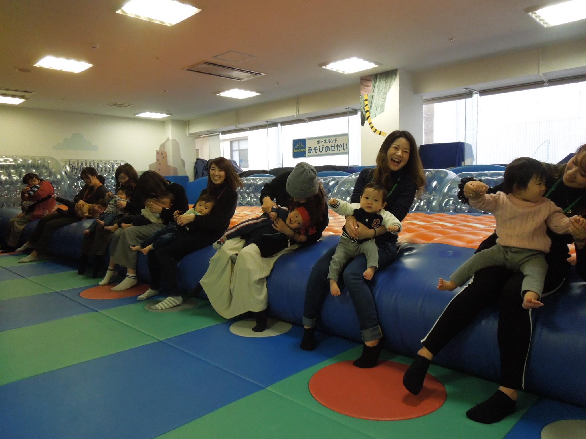 2/14(木)赤ちゃんの日イベントハイハイレースのご報告
