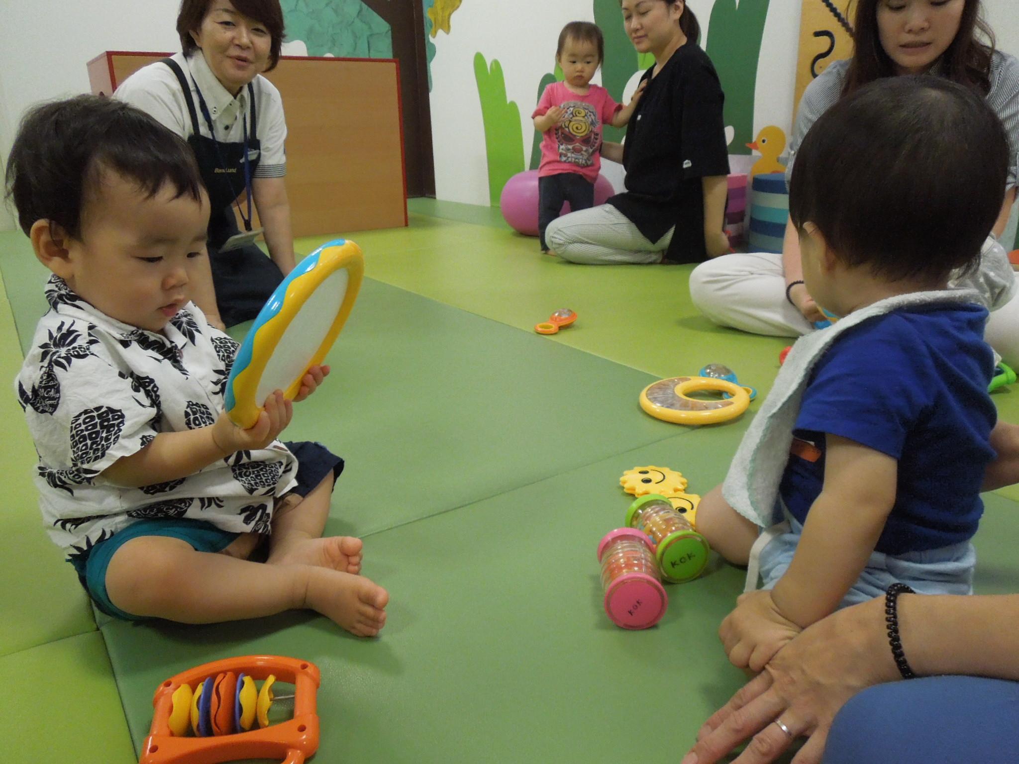 7/18(木) 赤ちゃんの日「遊び遊具体験会」のご報告