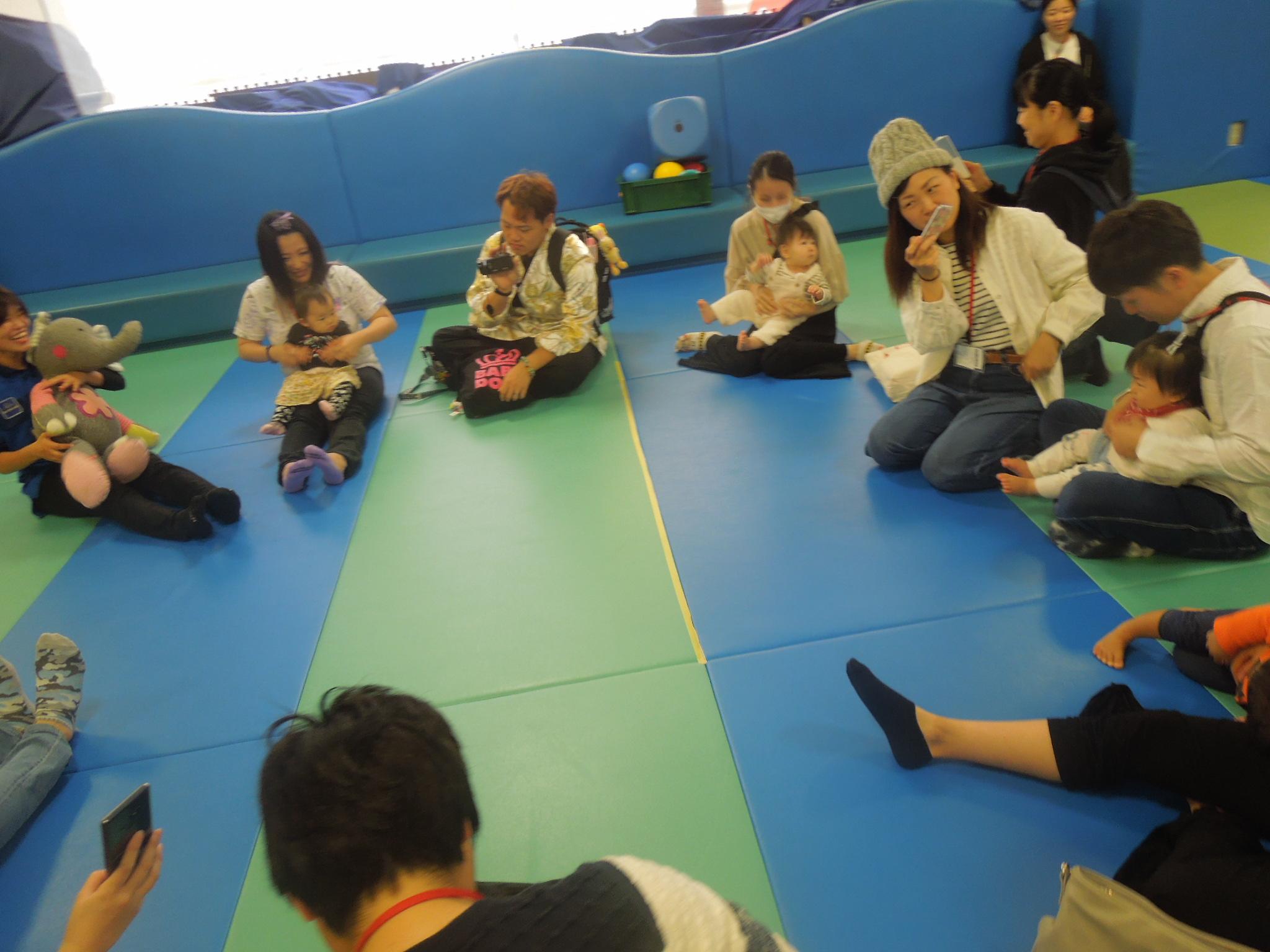 10/19(土) 赤ちゃんの日「ハイハイレース」イベントのご報告