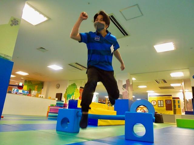 PLAYFUL スポーツチャレンジ【ハードル走】