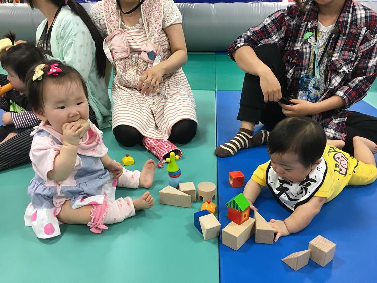 【6月6日(火)開催!】赤ちゃんの日イベント【からだあそび】