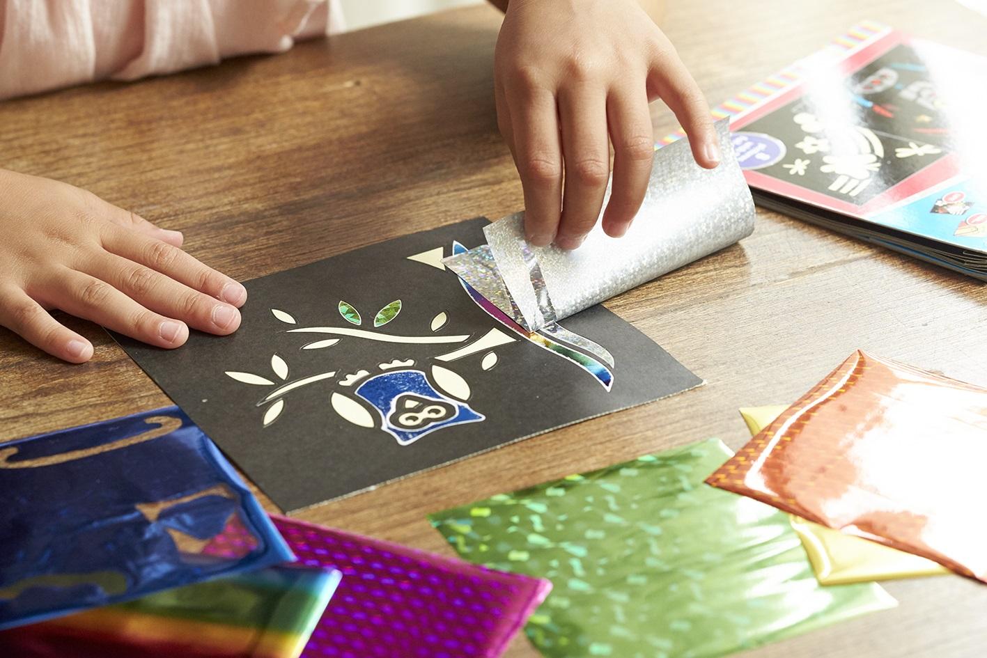 【8月26日(土) ショップイベント】カラフル・ホイルアートで簡単キラキラアートを楽しもう!
