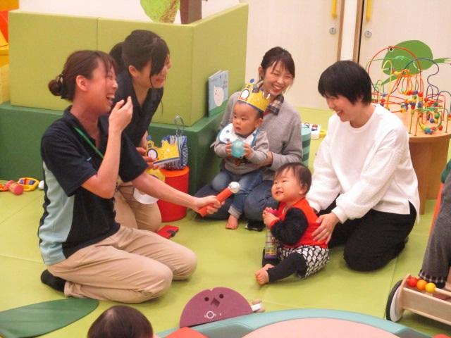 赤ちゃんの日♪おたんじょうび会!