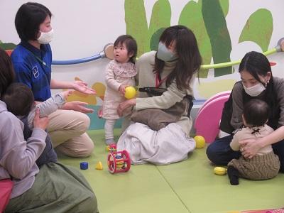 赤ちゃんイベント♪1歳のおたんじょうび会