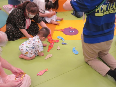 赤ちゃんイベント♪ キドキド夏祭り