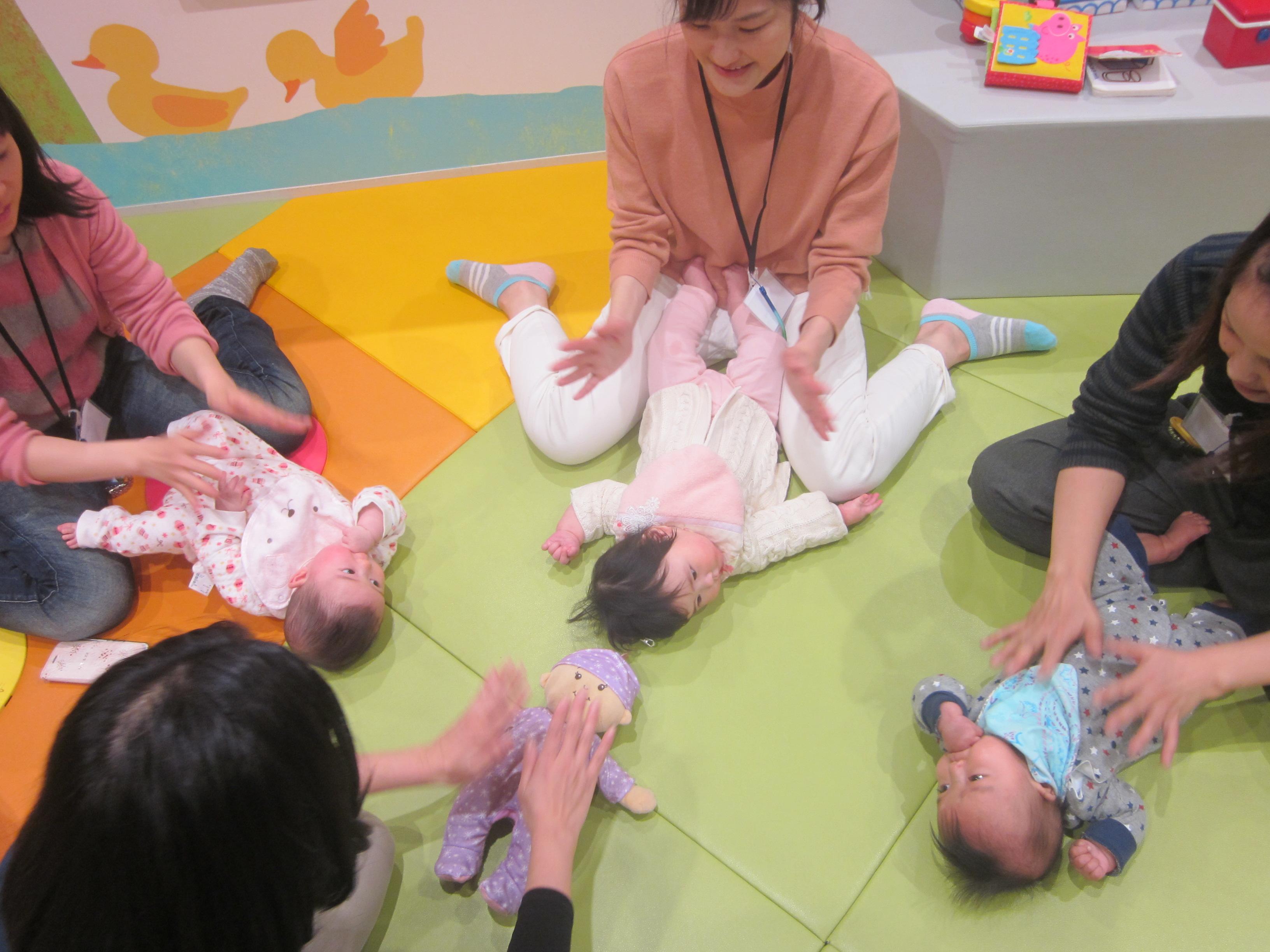 【6か月未満の赤ちゃん対象】プレキドキド体験会♪