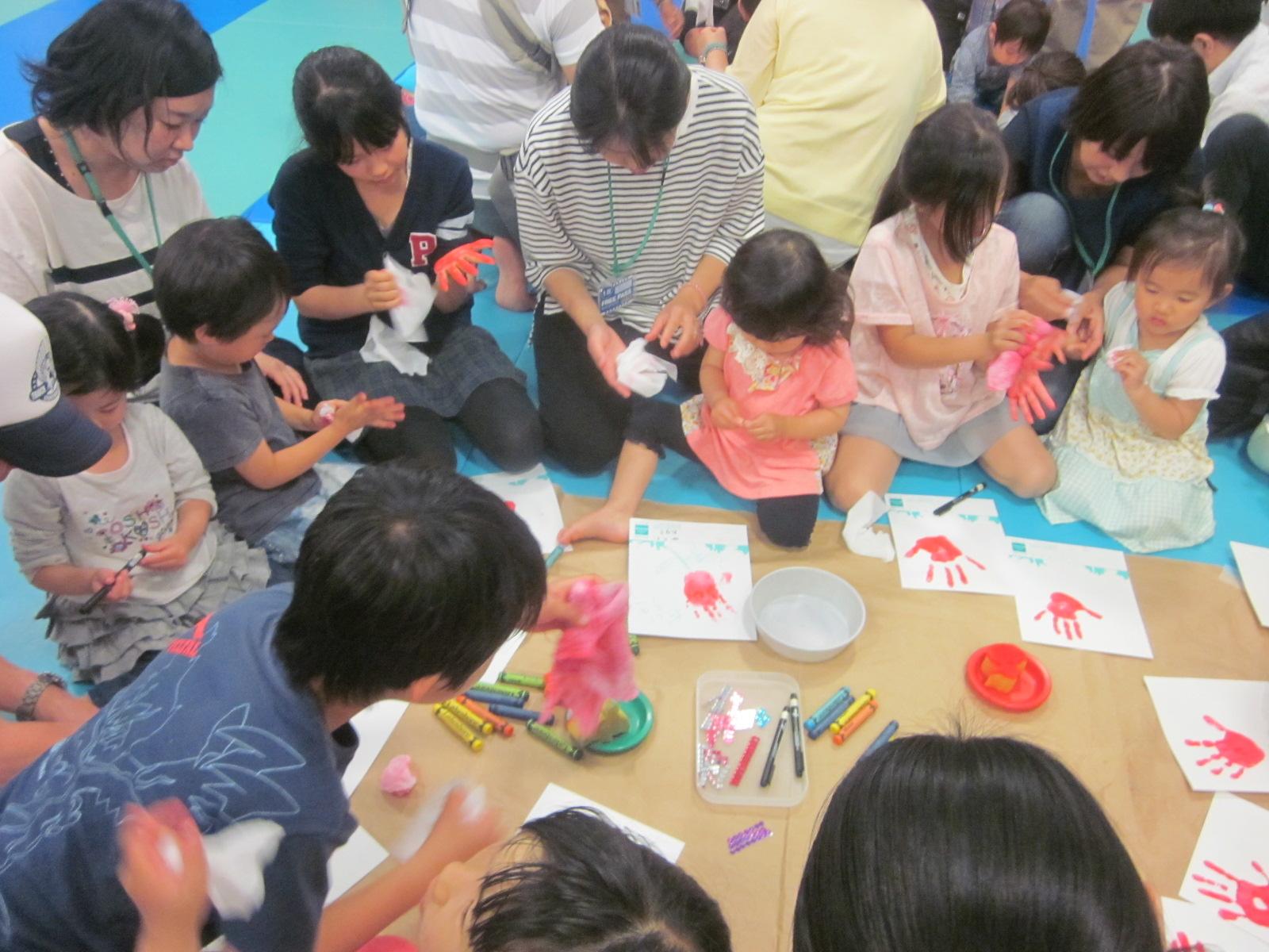 【母の日特別イベント】手型でオリジナルメッセージカード作り