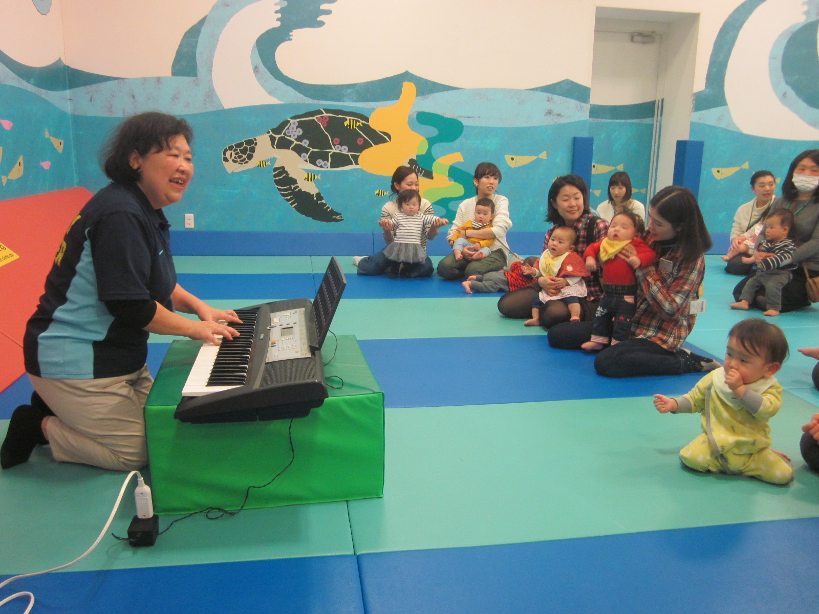 7月27日 赤ちゃんの日イベント「手づくりマラカスでミュージック!」を行います
