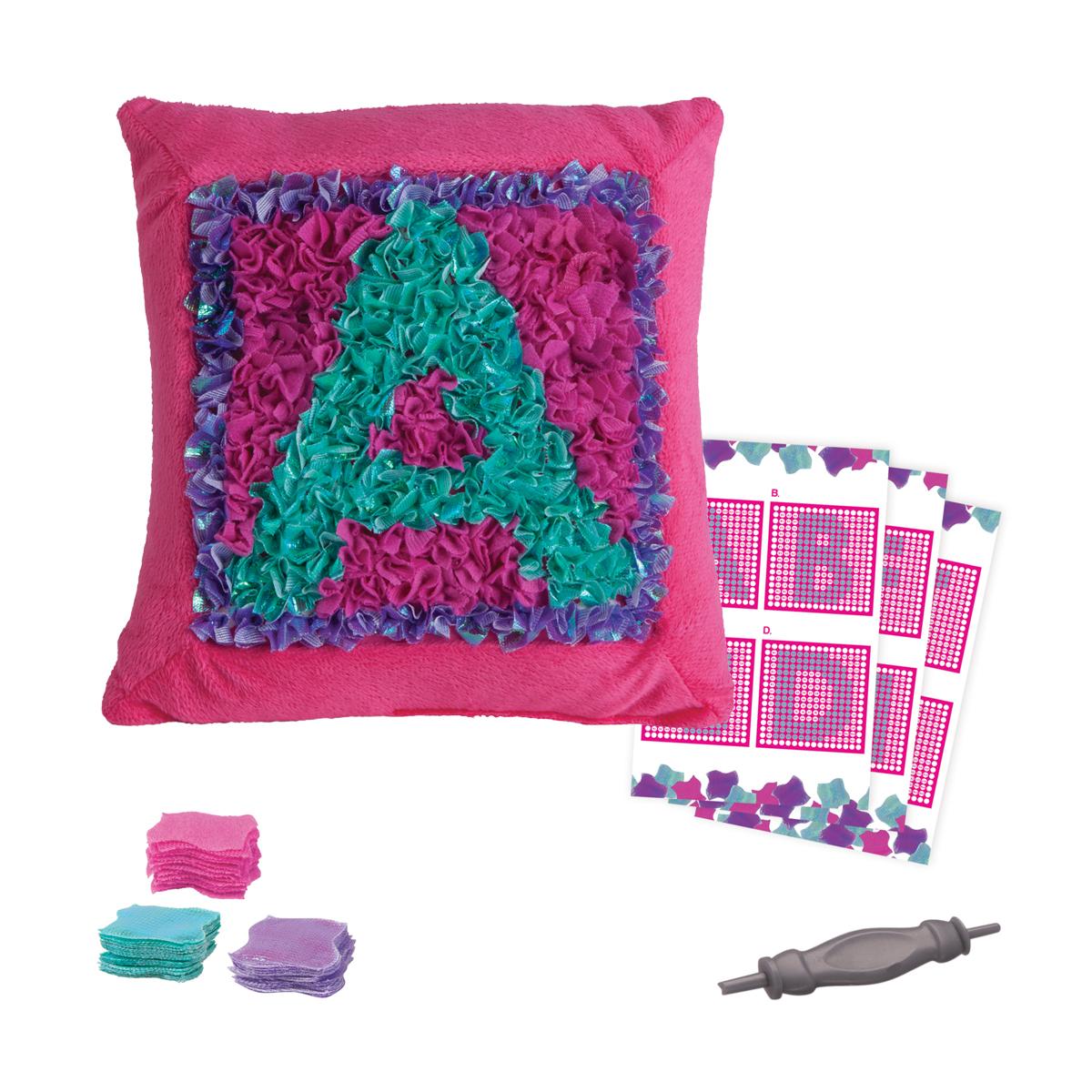 plush craft cussion alphabet