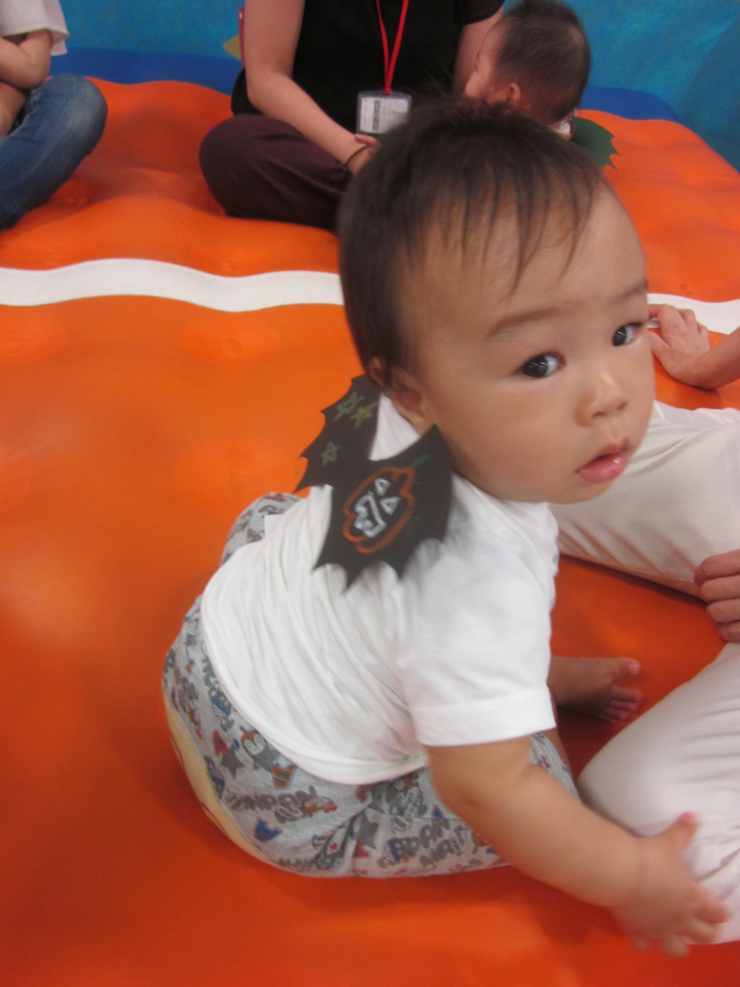赤ちゃんの日のイベント「キドキドハロウィンツアー」を行いました