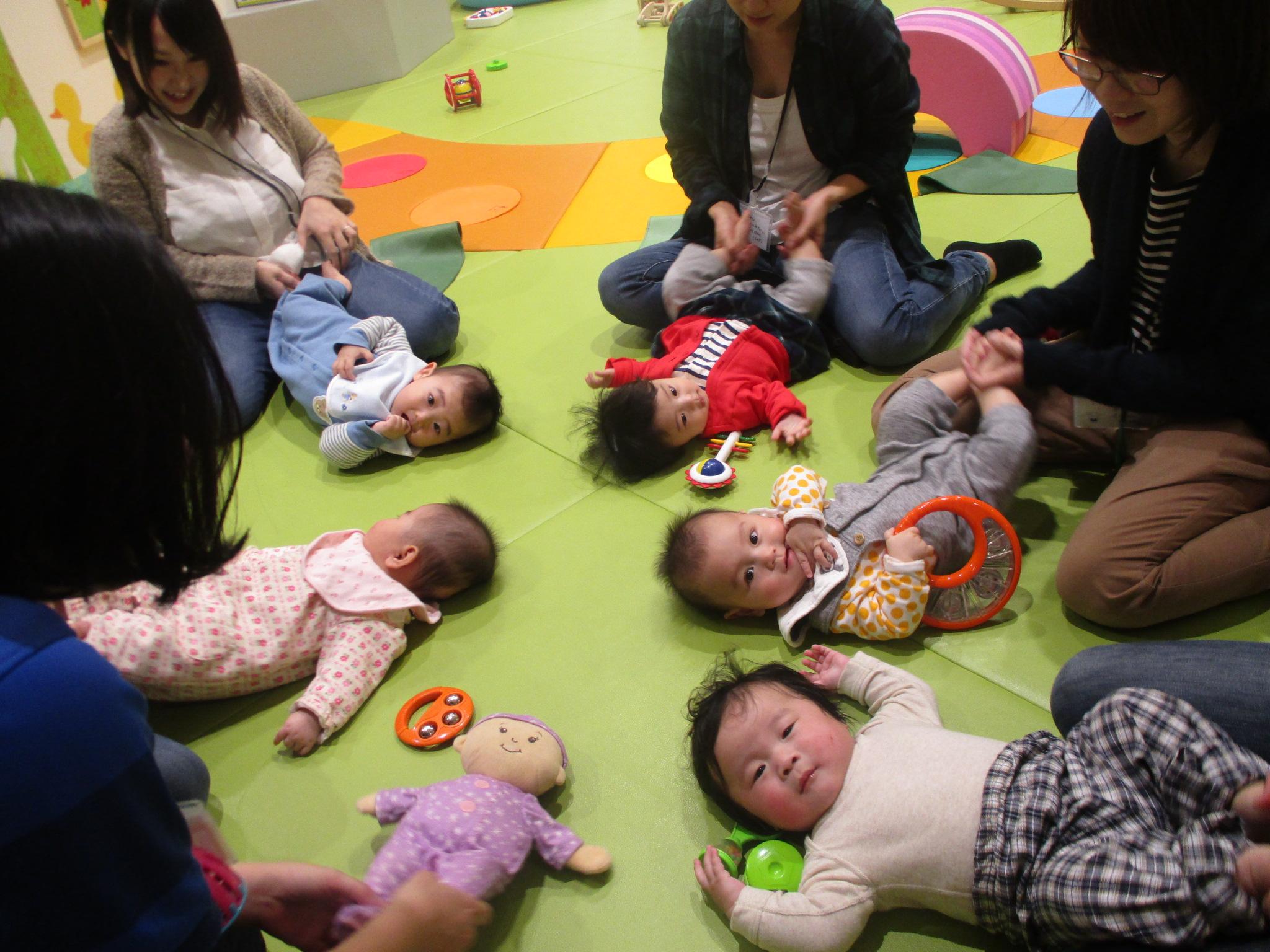 火・木限定「ベビーパス」で赤ちゃんとたっぷり遊ぼう!