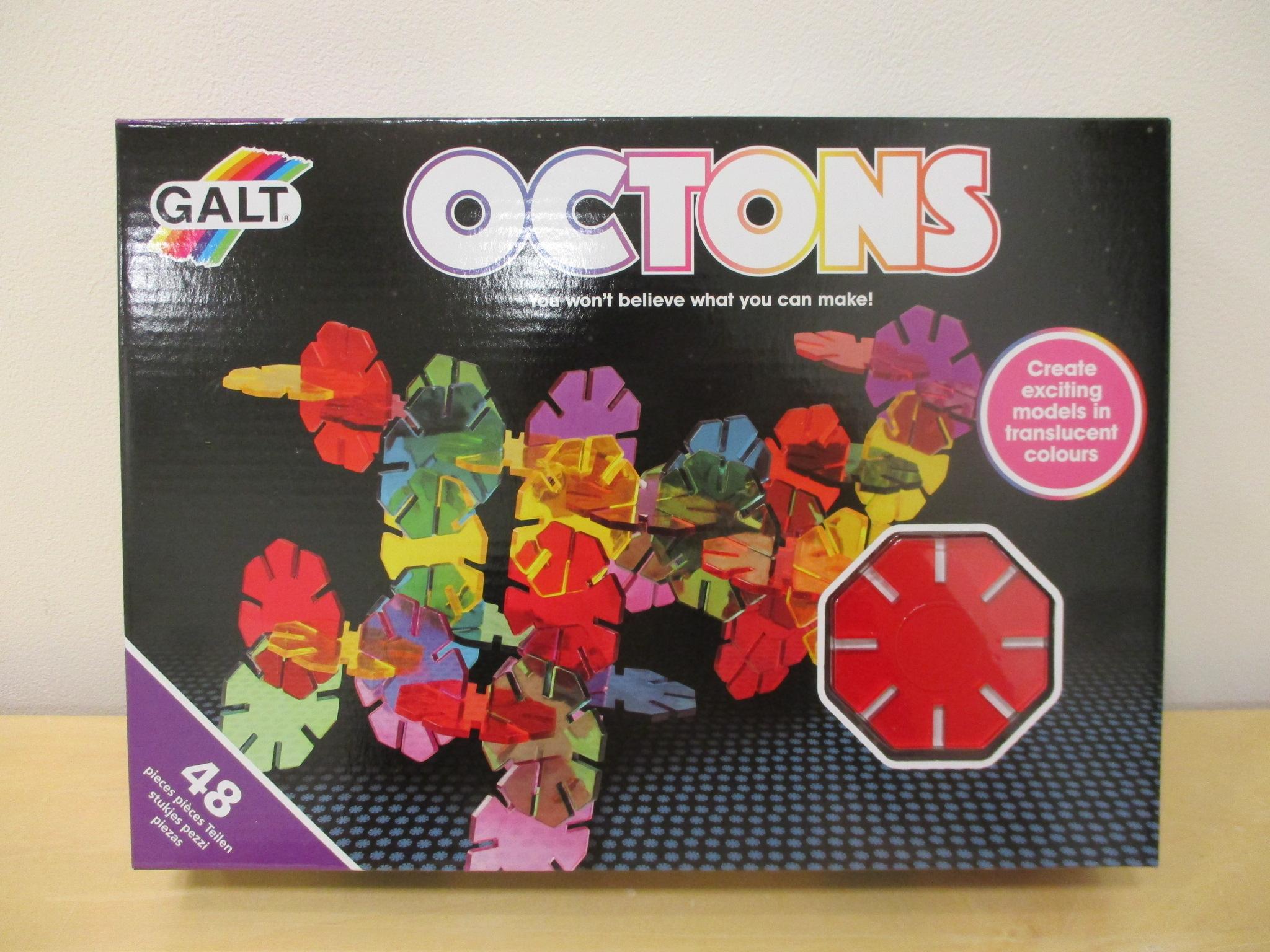 光であそぶアート・ブロック「OCTONS」のご紹介