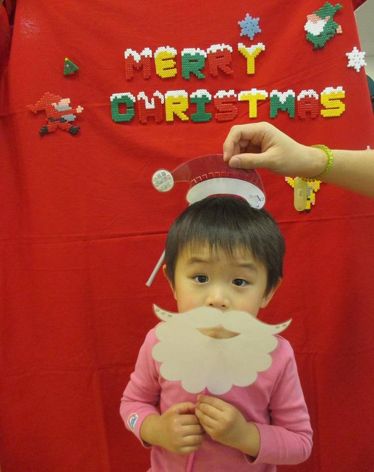 クリスマスフォトスポット登場~♪