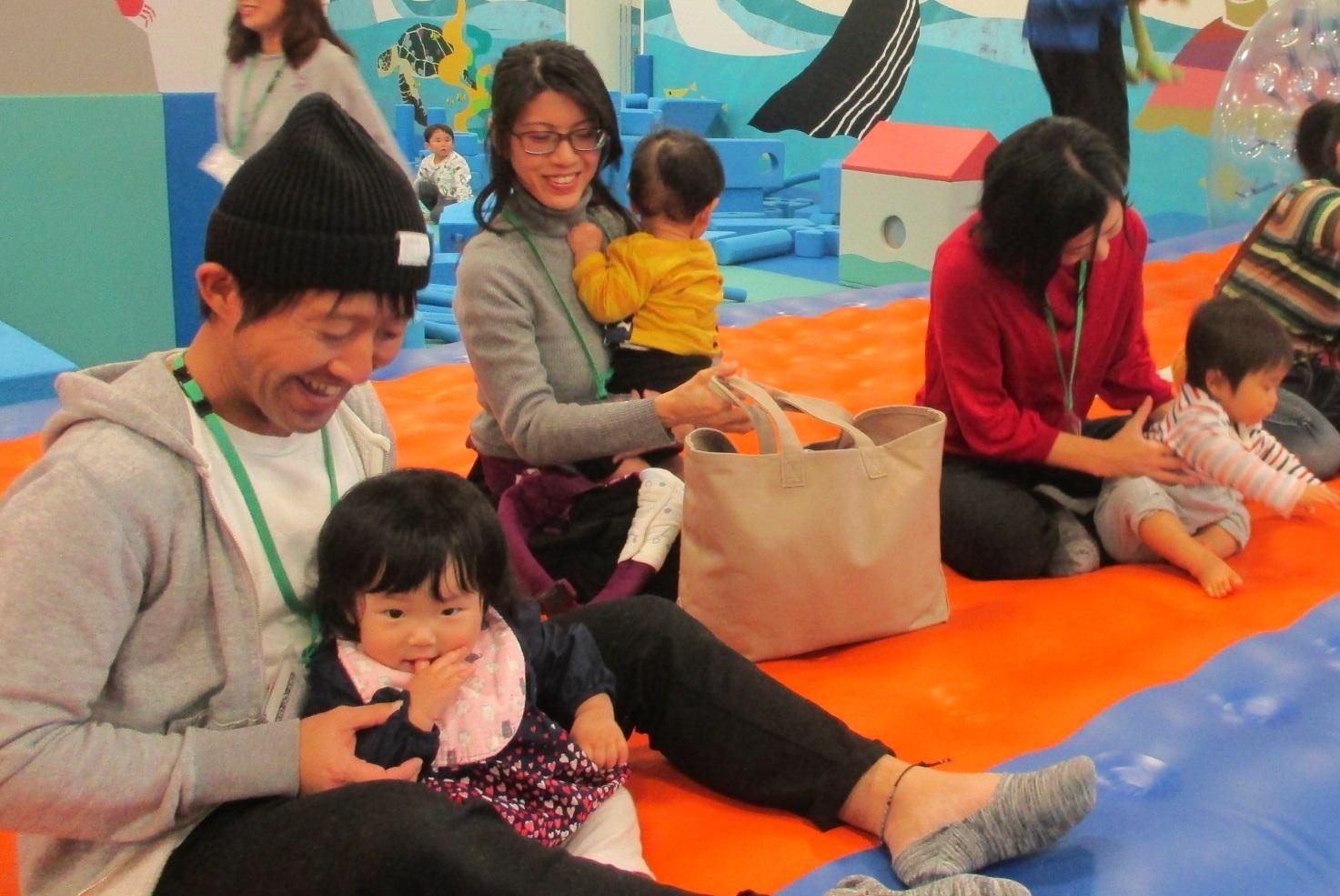 今週の火・木は赤ちゃんの日イベント「ママと一緒に初めてのキドキド探検に出発!」を行います!