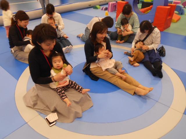 赤ちゃんの手型イベントを開催しました!