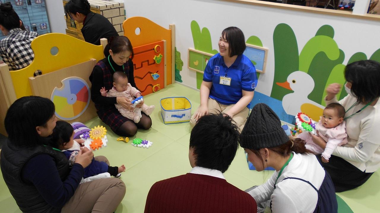赤ちゃんのあそび道具体験会