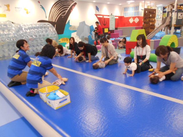 赤ちゃんイベント「ハイハイレース」を開催しました!