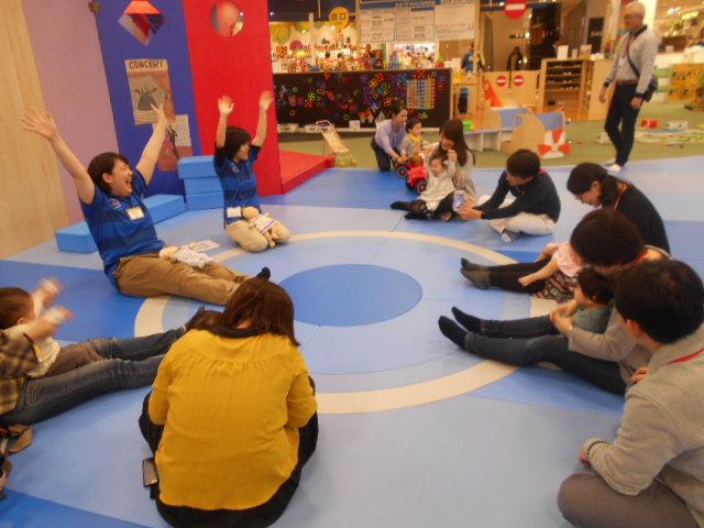 赤ちゃんイベント「手形足型で成長記録」を開催しました!