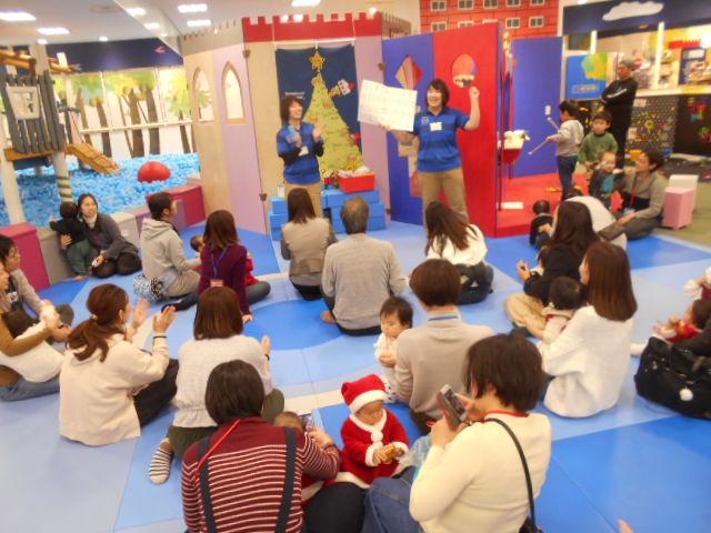 赤ちゃんイベント「初めてのクリスマス」を開催しました!