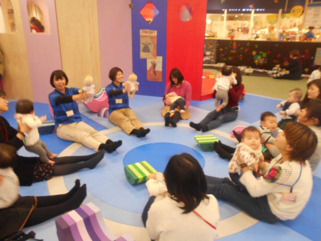 赤ちゃんイベント「ベビーからだあそび」を開催しました!