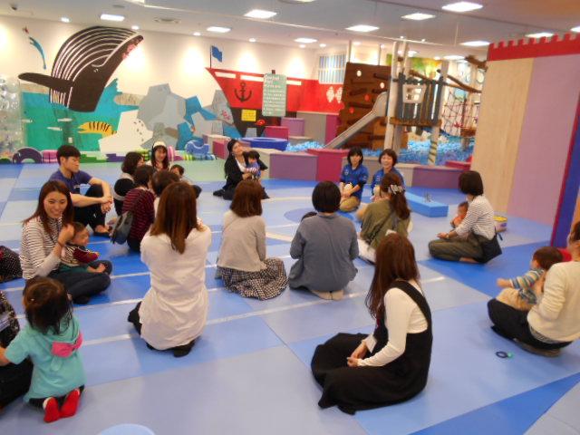 赤ちゃんイベント「ハイハイ&よちよちレース」を開催しました!