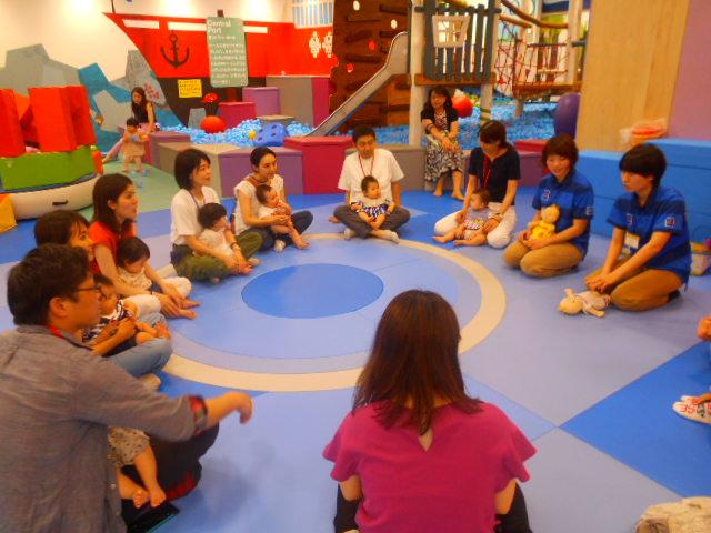 赤ちゃんイベント「手形足形成長記録」を開催しました!