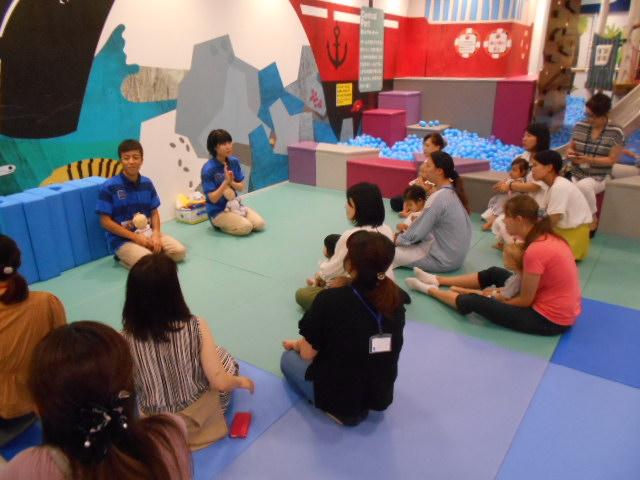 赤ちゃんイベント「手形・足形成長記録」を開催しました!