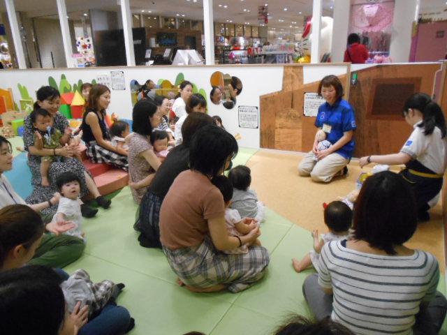 赤ちゃんイベント「はじめてのネンド」を開催しました!