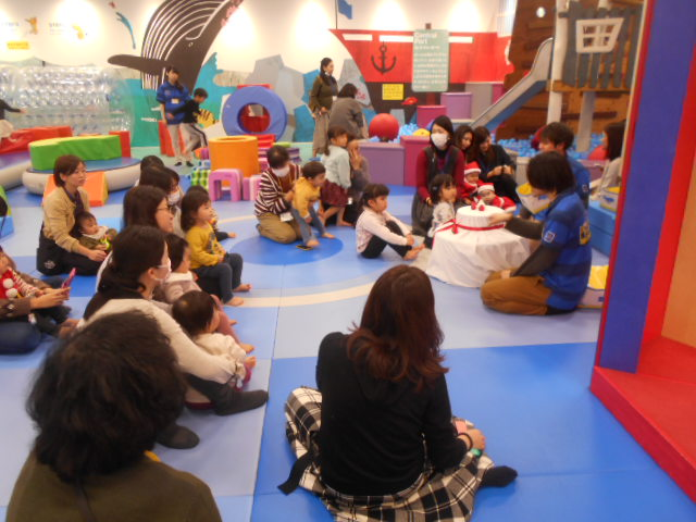 「クリスマス会」のイベントを開催しました!