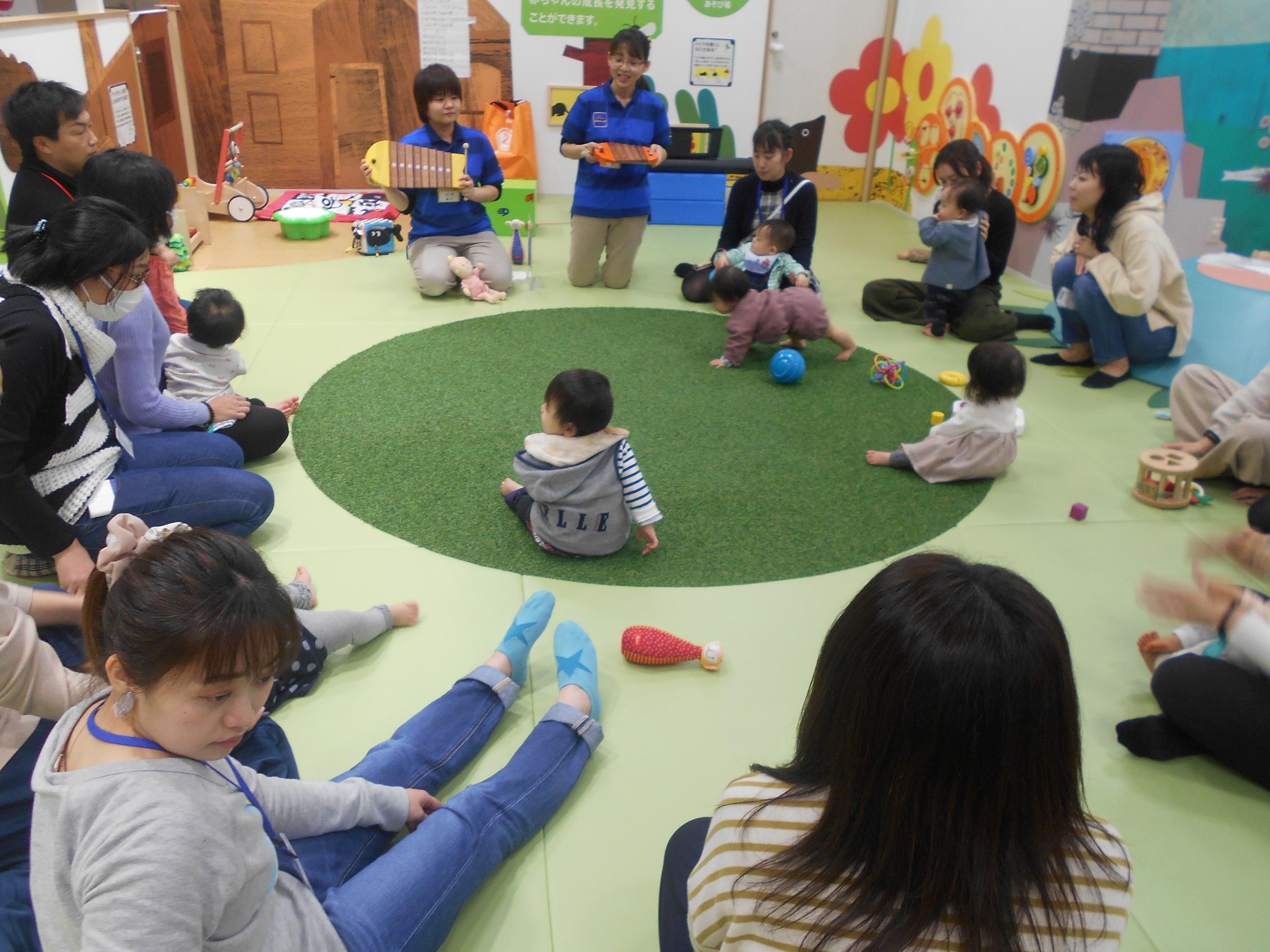 ♦赤ちゃんイベント 「音あそび」を開催しました!
