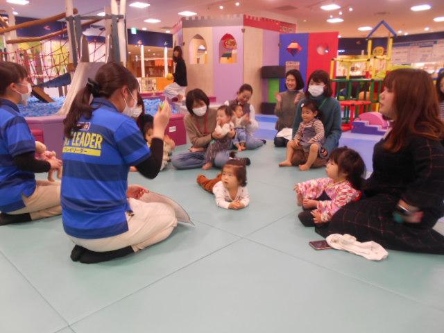 赤ちゃんイベント「3月の手形カレンダー作り」を開催しました!
