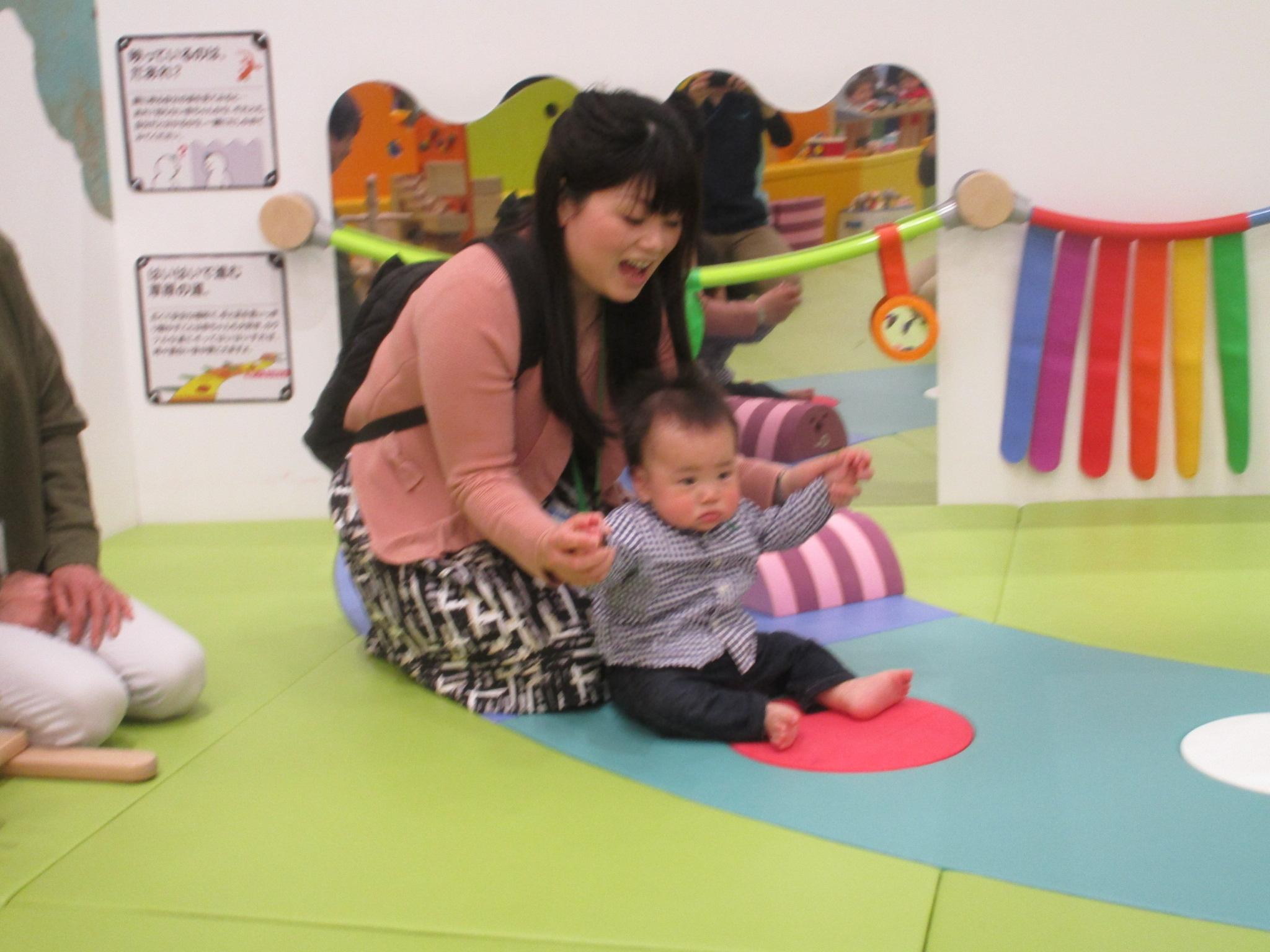 赤ちゃんの日イベント「ドキドキ キドキド探検ツアー」開催♪
