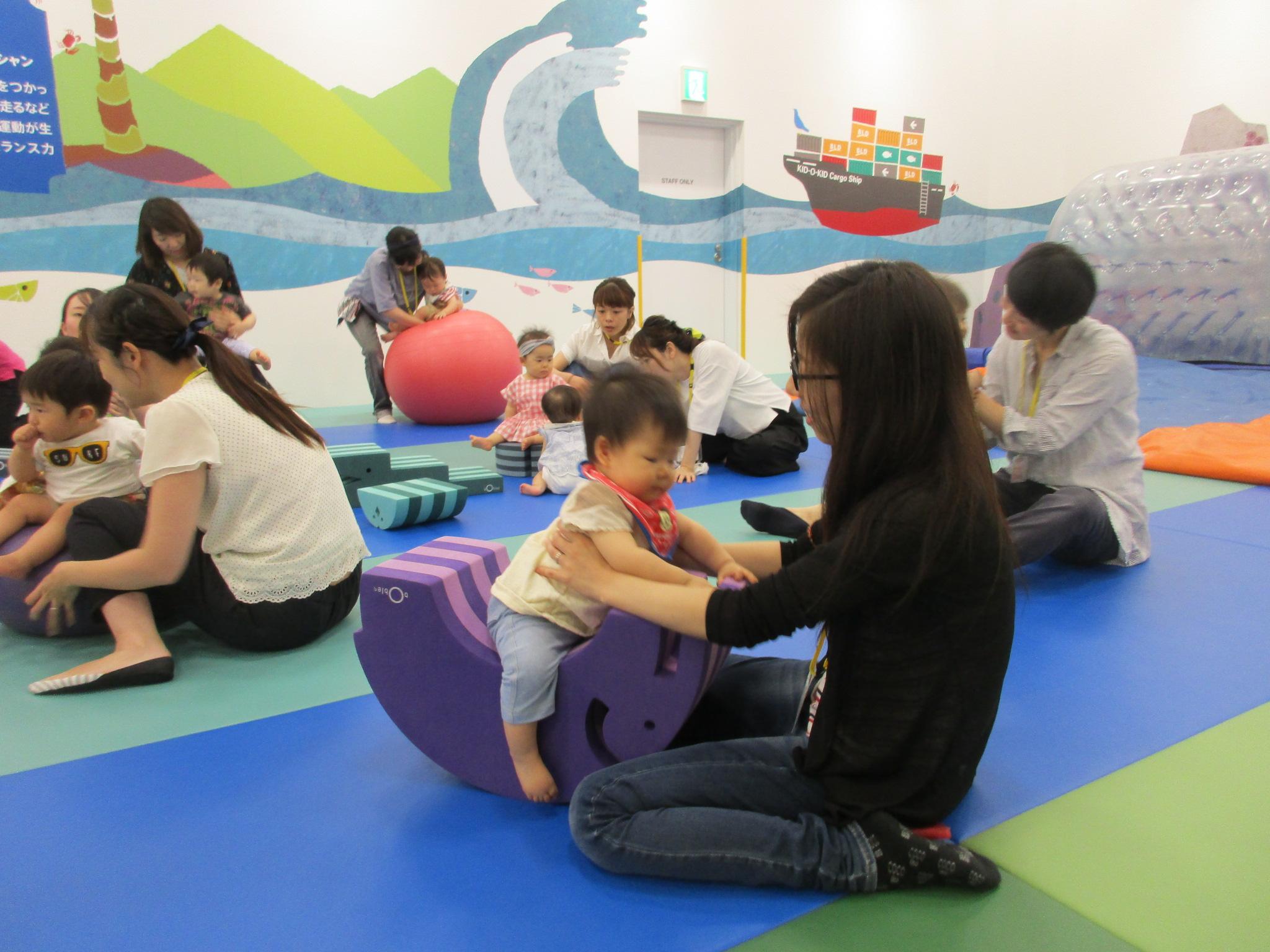 赤ちゃんイベント「感覚遊び♪」