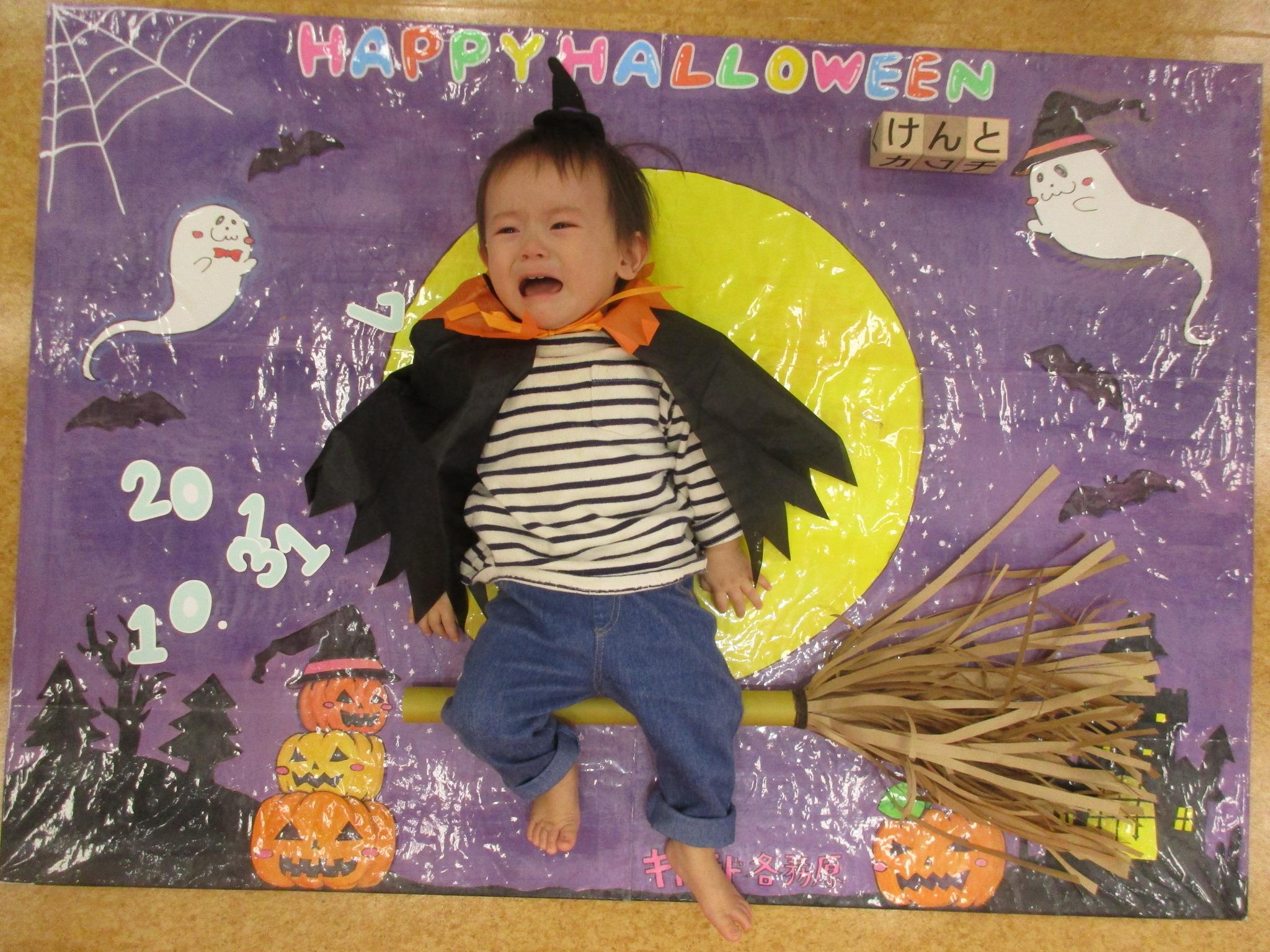 赤ちゃんの日「ハロウィンパネルで写真撮影会」