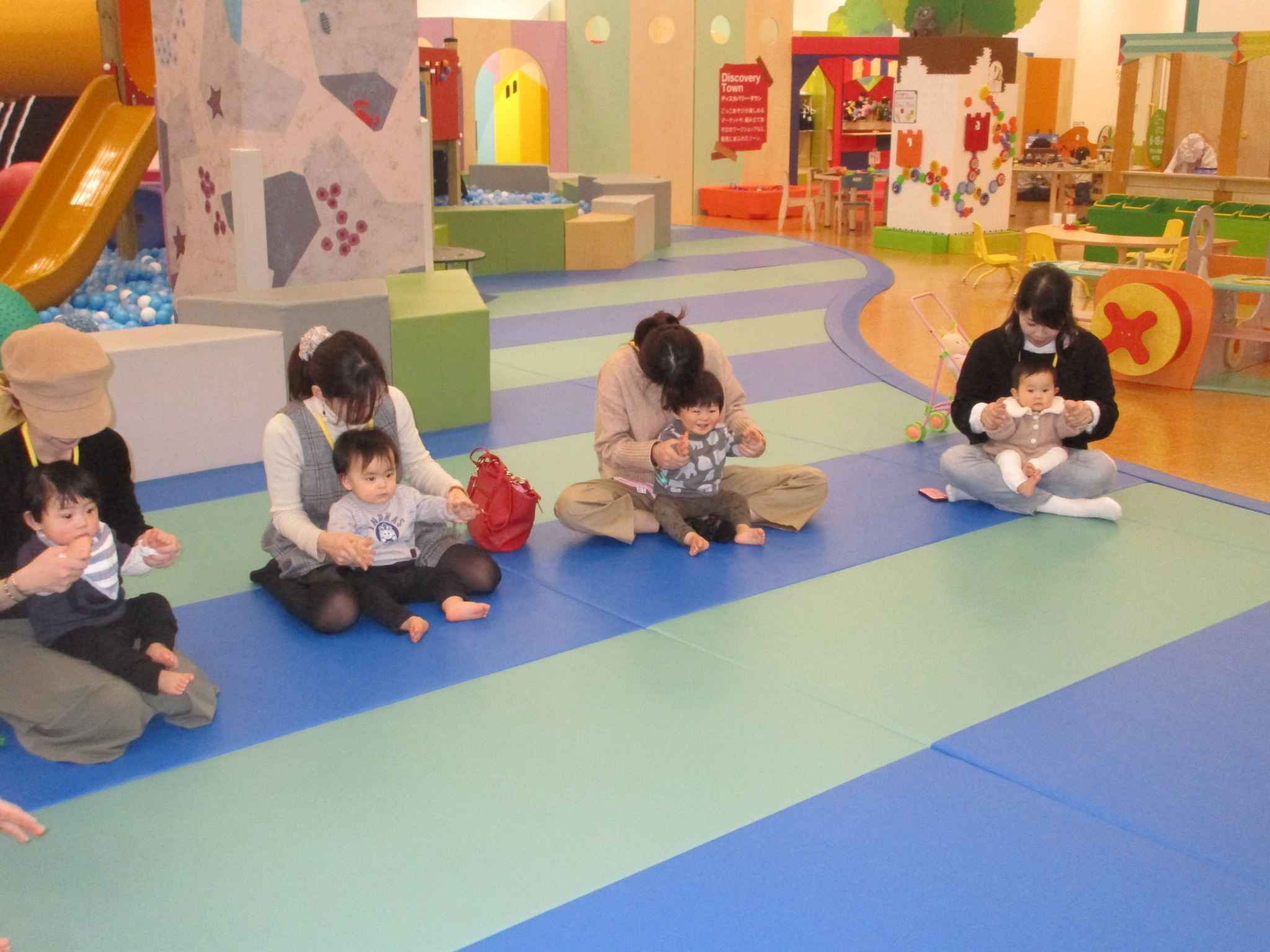 赤ちゃんイベント「ハイハイレース」開催!