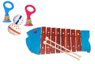 【全国共通ベビーイベント】リズムや音を奏でよう クリスマスミュージックガーデン