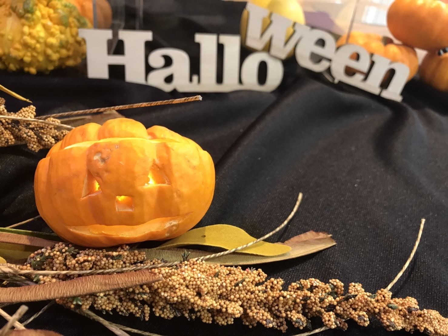 【特別ワークショップ】本物かぼちゃで「ジャック・オ・ランタン」づくり