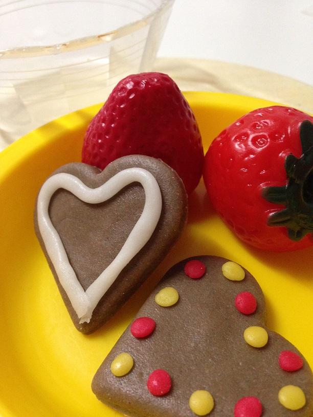 かんてんネンドでバレンタインのチョコレート作り